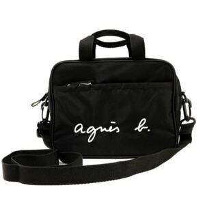 アニエスベー ショルダーバッグ GL11 E BAG ロゴ2way通園バッグ