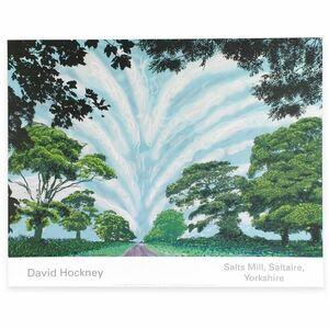 デイヴィッド・ホックニー David Hockney Summer Sky ポスター / Andy Warhol Roy Lichtenstein 村上隆 カウズ KAWS