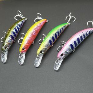 【4色セット】スピアヘッド・シンキング80S トラウトミノーB 釣り具