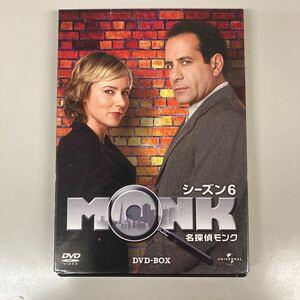 名探偵モンク シーズン6 DVD−BOX/トニーシャルーブトレイラーハワードテッドレヴィンアンディブレックマン (原作)