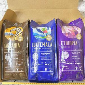 タリーズコーヒー 3点SET エチオピア グァテマラ エチオピア タリーズ コーヒー豆 カルディ スタバ レギュラーコーヒー