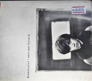 No5 04926 bonnie pink / evil and flowers 【中古】【レン落】【CD】