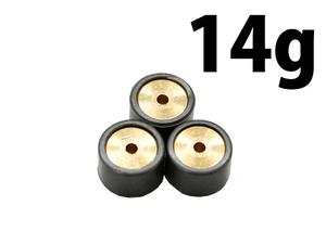 新品 17φ×12mm ウェイトローラー 14g 3個入り アドレスV100 CE11A CE13A アドレス110 CF11A アドレスV50 CA42A CA44A CA4BA