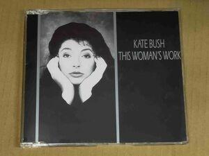 ケイトブッシュ KATE BUSH / THIS WOMAN'S WORK UK盤CD f909