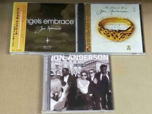 ジョンアンダーソン CD3枚セット THE PROMISE RING/THE MORE YOU KNOW/ANGELS EMBRACE JON ANDERSON f906