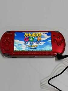 PSP-3000 RR ラディアントレッド  現状品