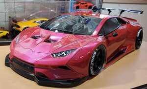 3レーシング 1/10 LGBボディキット(ランボルギーニ ウラカンLB仕様?)塗装済み 激レア品 ハイパーカー ドリフト