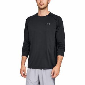 アンダーアーマー 長袖Tシャツ UA TECH 2.0  LG ブラック 2021 Fall&Winter モデル