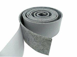 新品グレー Tetedeer 床のキズ防止テープ 自由にカットして使用可 幅5cm 長200cm (グレー)OMFR