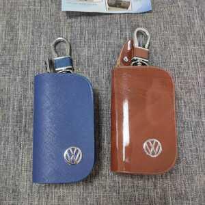 特価!★2個★フォルクスワーゲン Volkswagen★エンブレム キーホルダー ワイヤーキーリング キーチェーン 2個