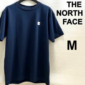 THE NORTH FACE ノースフェイス スモールボックスロゴ半袖Tシャツ M アーバンネイビー