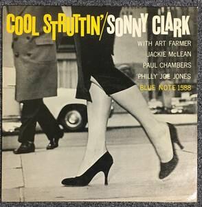 【オリジナル/極美品】『 Cool Struttin' 』Sonny Clark Art Farmer Jackie McLean Paul Chambers Philly Joe Jones ソニー・クラーク