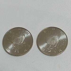 ☆東京オリンピック・パラリンピック ミライトワ ソメイティ 2種セット 競技大会記念貨幣 4次 硬貨 100円 2020