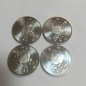 ☆東京オリンピック・パラリンピック ミライトワ ソメイティ 2種4枚セット 競技大会記念貨幣 4次 硬貨 100円 2020