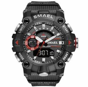 ◆ ミリタリー ウォッチ メンズ スポーツ 防水 腕時計 ストップウォッチ アラーム ledライト デジタル腕時計 メンズスポーツ時計 1739
