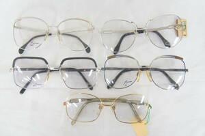 ★ カザール 4点 シルエット 1点 計5点 眼鏡 めがね まとめ 高こ10090601
