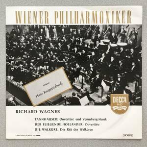 独DECCA 初期 FLAT盤 クナッパーツブッシュ/VPO ワルキューレの騎行 ワーグナー 管弦楽曲集 極美品