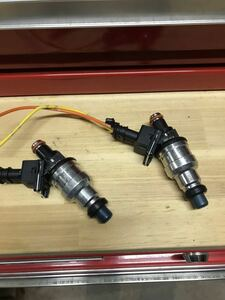 new goods injector 650cc FC3S 4G63 DENSO type connection connector attaching 2 piece set