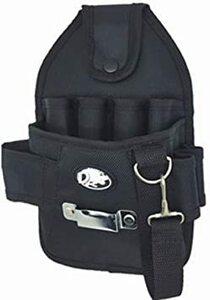 カーペンタータイプ 工具用ウエストバッグ 大工 電工用 作業効率の良い機能設計 工具差し 工具袋 ポーチ腰袋 ベルトポーチ ツー