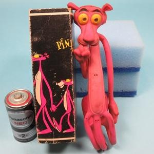 ★ピンクパンサー★PINK PANTHER クネクネ人形 昭和レトロ 1970年代 デッドストック 当時物