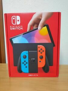 Nintendo Switch ニンテンドースイッチ本体 有機EL ネオンブルー ネオンレッド