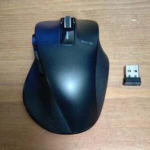 エレコム ワイヤレスマウス EX-G 5ボタン Mサイズ