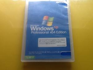 大珍品!Windows XP Professional x64 Edition @正規DSP版@ プロダクトキー・シール付