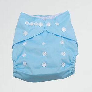 未使用 新品 ベビ-用おむつカバ- オムツカバ- M-J8 変形しにくい 8色選べる(BLC-3) 布おむつカバ- サイズ調節可能