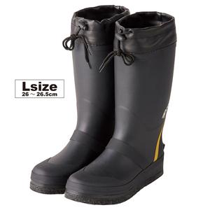 フェルトスパイクブーツ Lサイズ FTE303 ブラック プロマリン フィッシング 長靴 釣り具