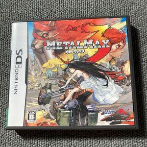 メタルマックス3 DS ほぼ新品