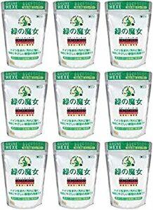 9個 【まとめ買い】緑の魔女 全自動食器洗い機専用洗剤 800g【×9個】