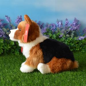 新品 犬 いぬ 子供 ぬいぐるみ おもちゃ お座り 寝室 動物 ペット キッズ ウェルシュ コーギー AT11719FG73
