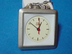 珍品 デザイン ELITEのペンダント時計 角型