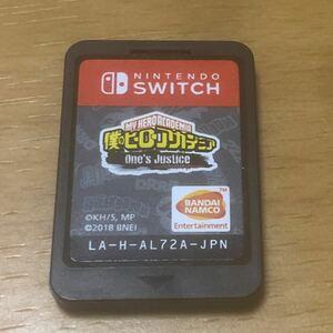 Nintendo Switch 僕のヒーローアカデミアワンズジャスティス ソフトのみ