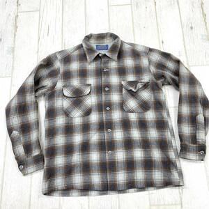 RV-20 PENDLETON/ペンドルトン!USA製 ウールシャツ/JKT サイズ M