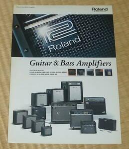Roland Guitar & Bass Amplifier 2004 ☆ ローランド カタログ ギターアンプ