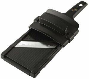 黒 Pack 1 貝印 KAI キャベツスライサー 関孫六 ワイド ガード付 日本製 DH3304