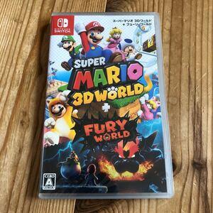スーパーマリオ3Dワールド+フューリーワールド Nintendo Switch Switch ニンテンドースイッチソフト