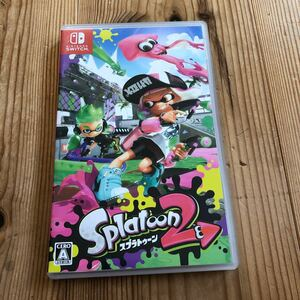 スプラトゥーン2 Splatoon2 Nintendo Switch 任天堂 ニンテンドースイッチ