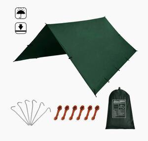 新品未使用 防水タープ シェード 3x3 ソロ キャンプ テント ddタープオマージュ