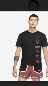 ナイキ(NIKE) Tシャツ 半袖 DRI-FIT マイラー ウィンドランナー GX S/S トップ CU6039-010 Mサイズ 送料込