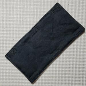 水筒肩紐カバー ブラック 水筒カバー ハンドメイド
