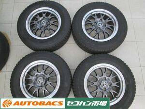 BADX S-HOLD S-8M 14 -inch 5.5J+42 PCD100/4 hole Goodyear bekta-4 season 185/70R14 2019 year manufacture [ used tire wheel 4 pcs set ]