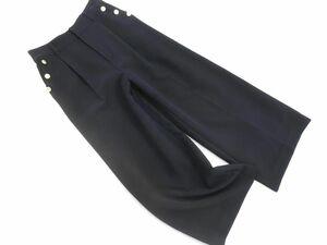 BARNYARDSTORM バンヤードストーム ワイド パンツ size0/濃紺 ◇■ ☆ bja8