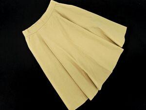 Ray BEAMS レイビームス フレア スカート size0/ベージュ ■■ ☆ bjb8