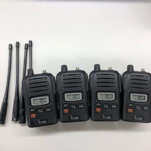 アイコム IC-UH35CTM 4台セット バッテリーおまけ [管理番号:5408]