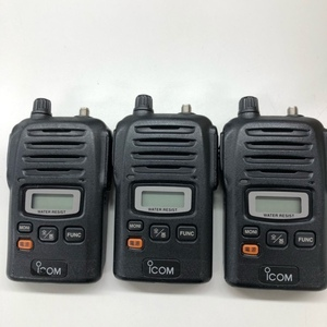 ジャンク アイコム IC-UH35CTM アナログ簡易業務用無線 [管理番号:5533]