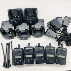 デジタル簡易無線機 GDB3500 5台セット 送料無料 廃局済 MOTOROLA モトローラ 簡易無線免許局 デジタル65ch アナログ35ch[管理番号:5293]