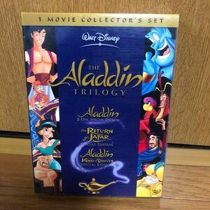 DVD アラジン 3部作完全BOX アラジン 3部作 完全BOX〈初回限定生産・4枚組〉