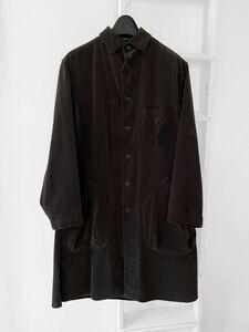 Yohji Yamamoto POUR HOMME 2017aw コーデュロイ ロング コート Y's ワイズ ヨウジヤマモト テーラード スーツ パンツ シャツ ニット